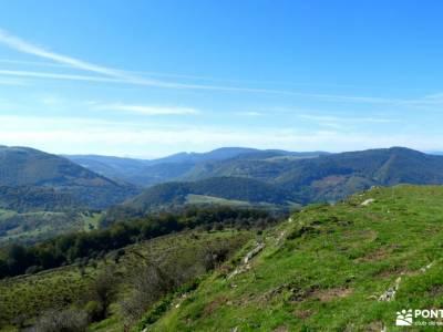 Selva de Irati - Puente del Pilar caminatas madrid puerto cotos madrid armeria segoviana mochilas de